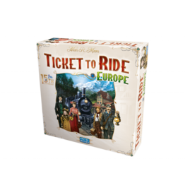 Days of Wonder Ticket to Ride: Europe - 15th Anniversary Edition