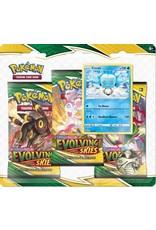 Pokemon Pokemon: Sword & Shield 7: Evolving Skies 3-Booster Blister Pack