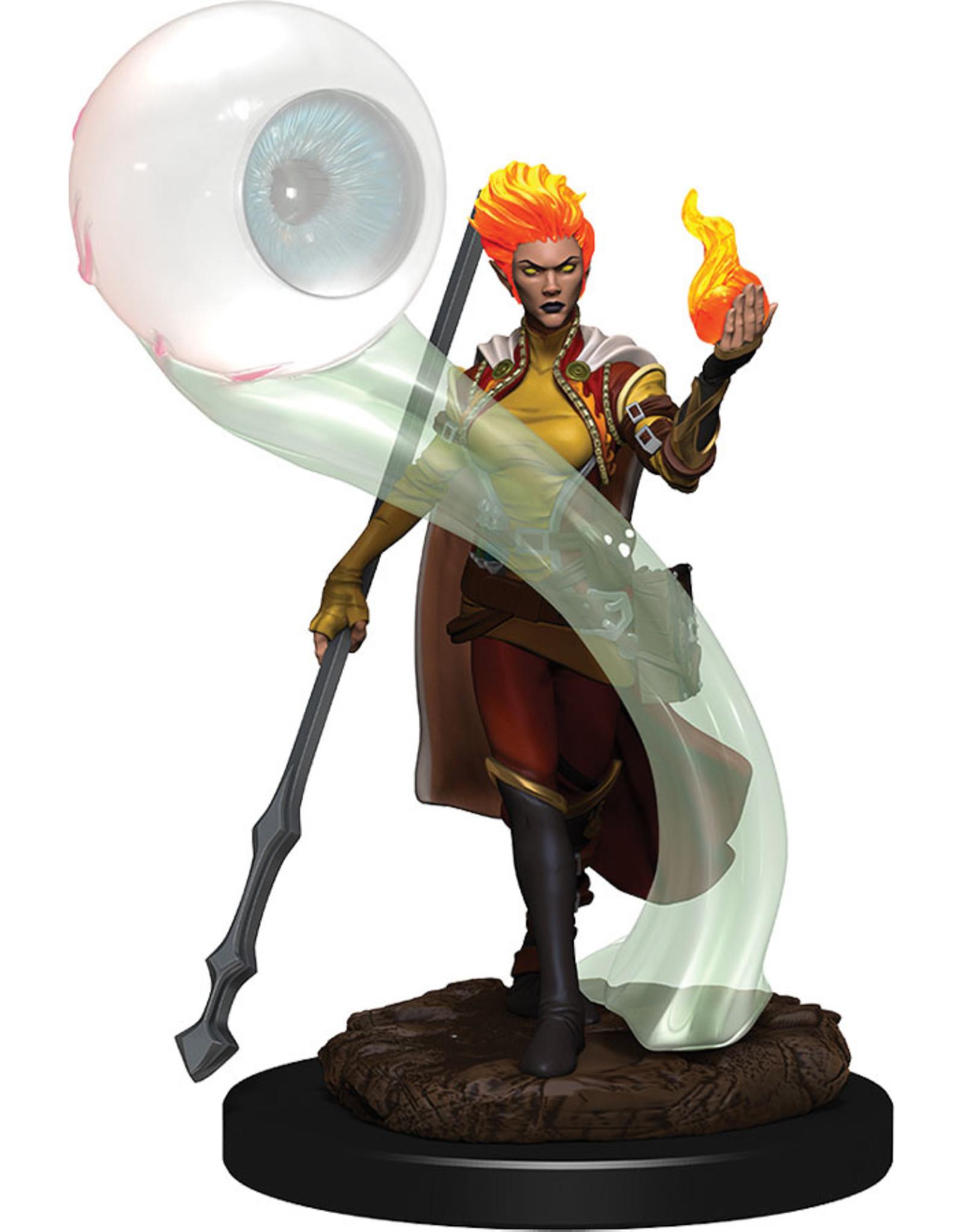 Wiz Kids D&D: Icons: W6 Fire Genasi Wizard Female
