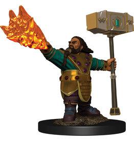 Wiz Kids D&D: Icons: W6 Dwarf Cleric Male