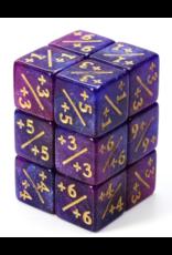 Foam Brain +1/+1 Magic Counter Dice - Blue/Purple