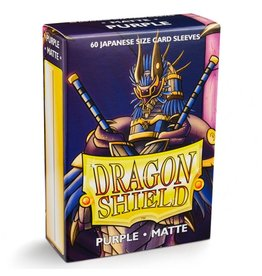 Arcane Tinman Dragon Shields Japanese: Matte Purple (60)