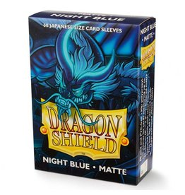 Arcane Tinman Dragon Shields Japanese: Matte Night Blue (60)
