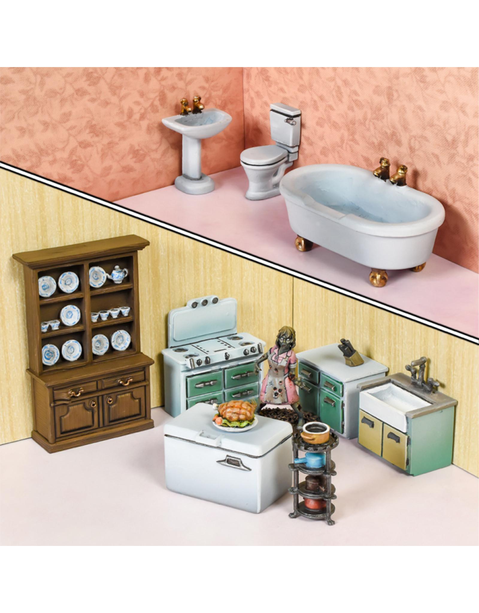 Mantic Games TerrainCrate: Bathroom & Kitchen