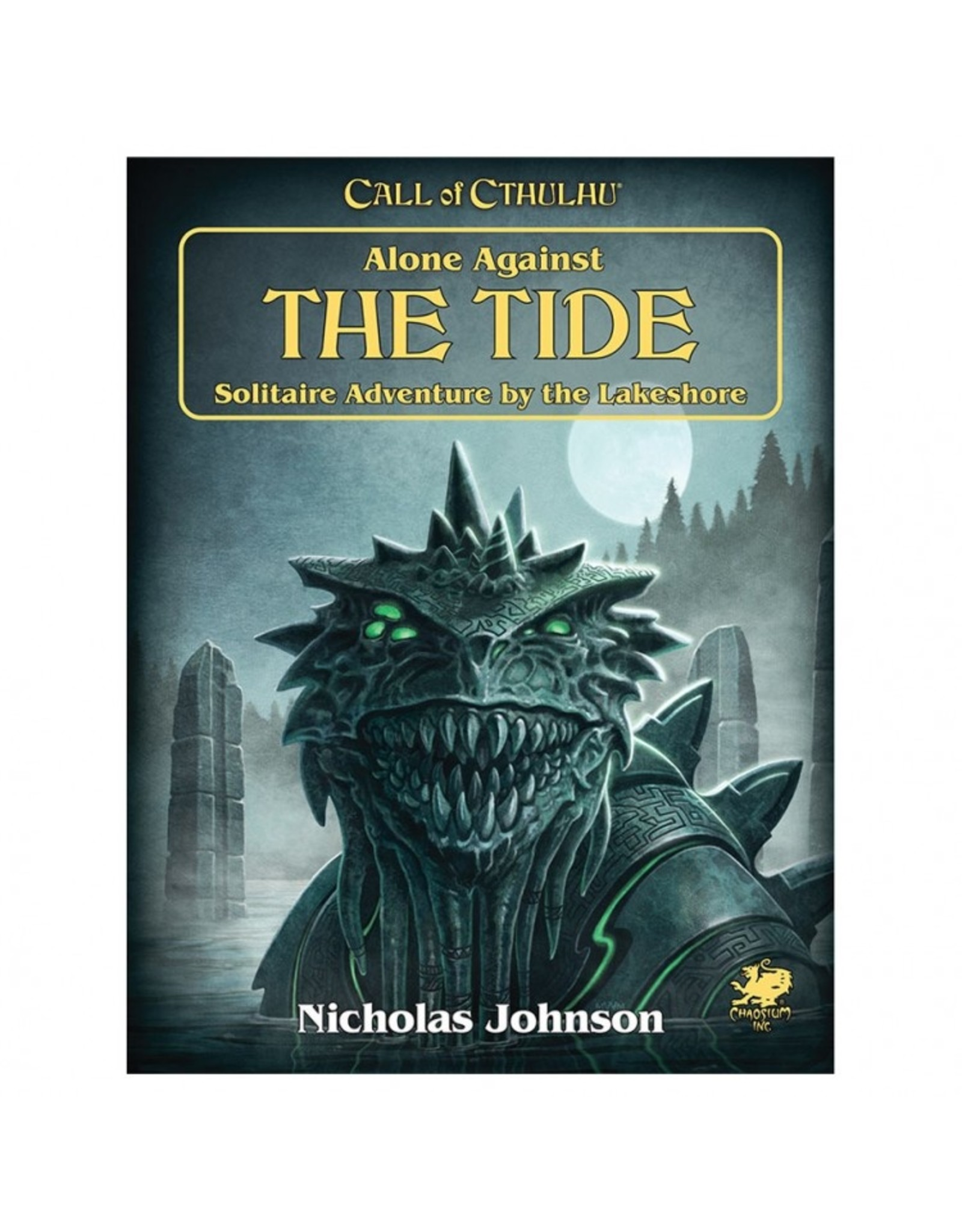 Chaosium Call of Cthulhu: Solo Adv. Alone Against the Tide