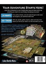 Loke Battlemats Box of Adventure Valley of Peril