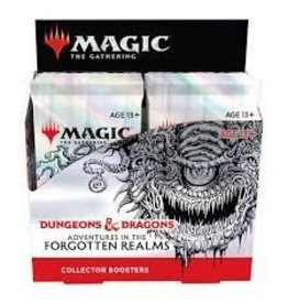 Magic Magic: Adv in the Forgotten Realms Collector Booster Box (12) with Promo