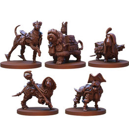 Steamforged Games Animal Adventures: Secrets of Gullet Cove - Dogs of Gullet Cove