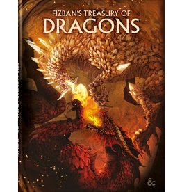 Dungeons & Dragons D&D 5E: Fizban's Treasury of Dragons (Alt Cover) (Pre Order)