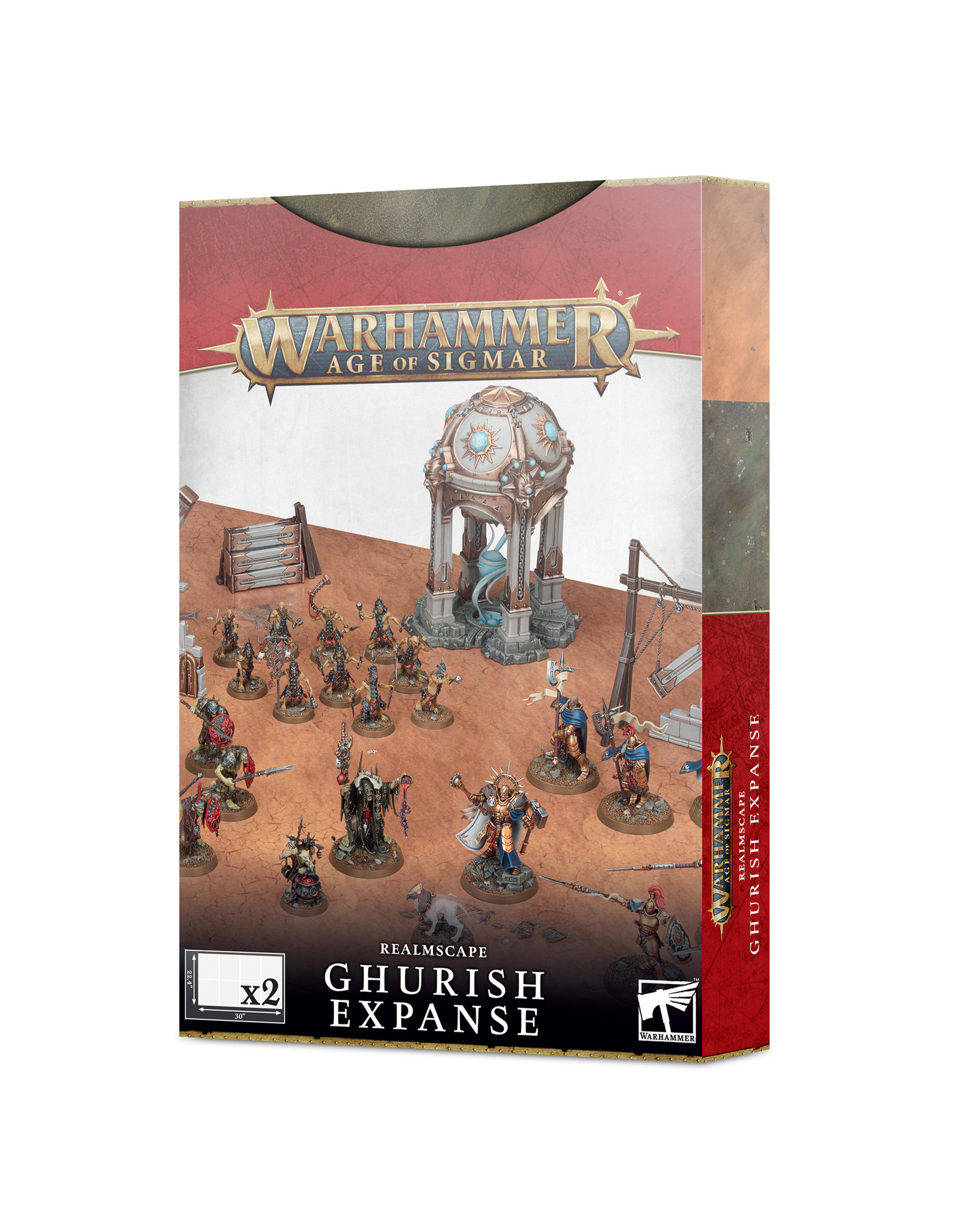 Age of Sigmar Age Of Sigmar Realmscape: Ghurish Expanse