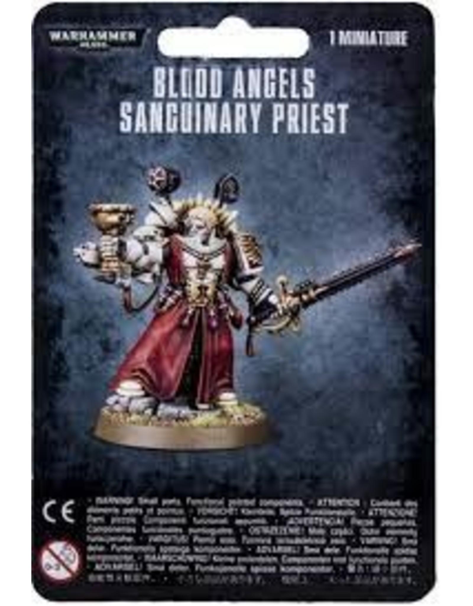 Warhammer 40K Blood Angels Sanguinary Priest