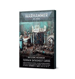Warhammer 40K Battlezone Mechanicum: Terrain Cards