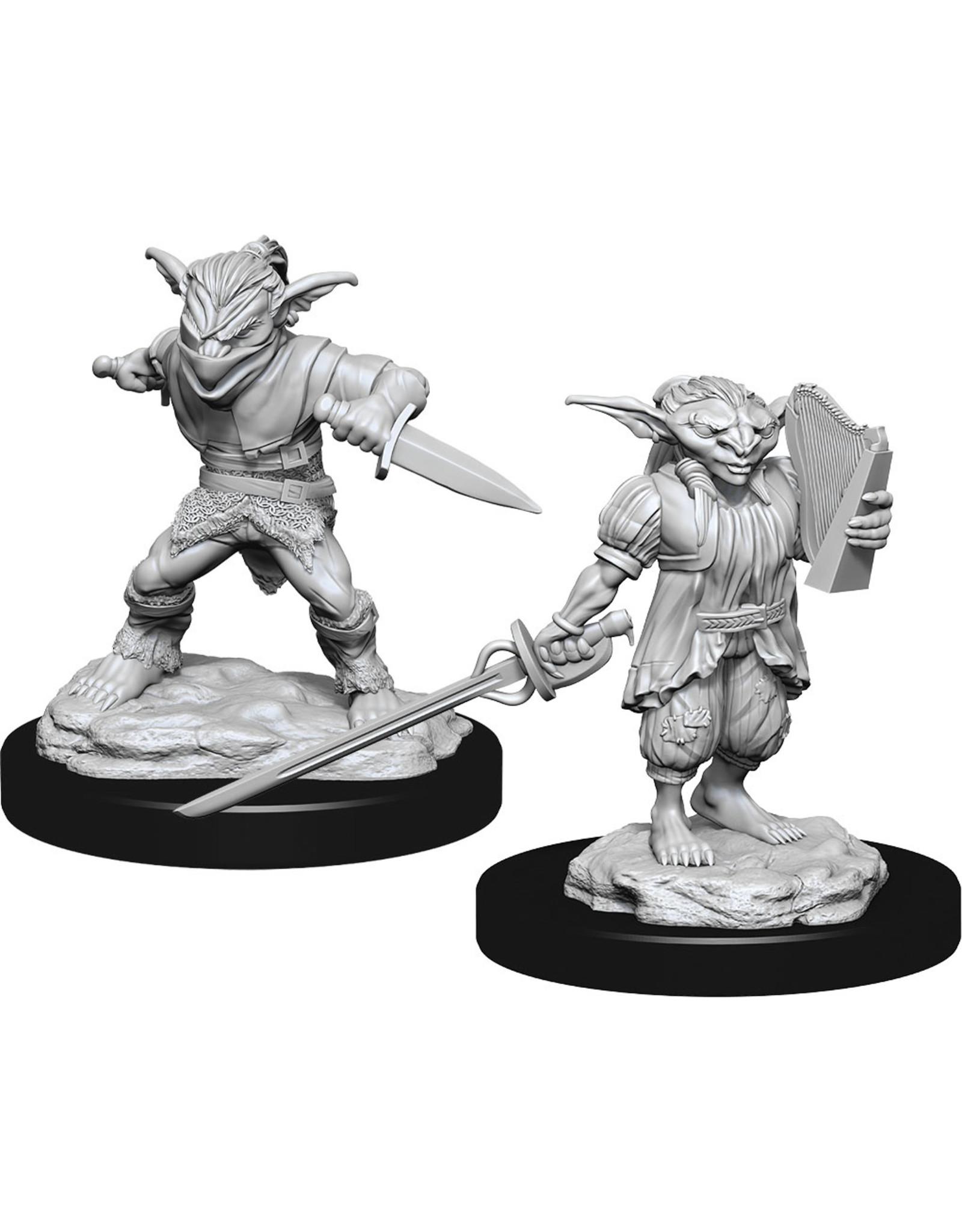 Wiz Kids D&D NMU: W15 Male Goblin Rogue & Female Goblin Bard