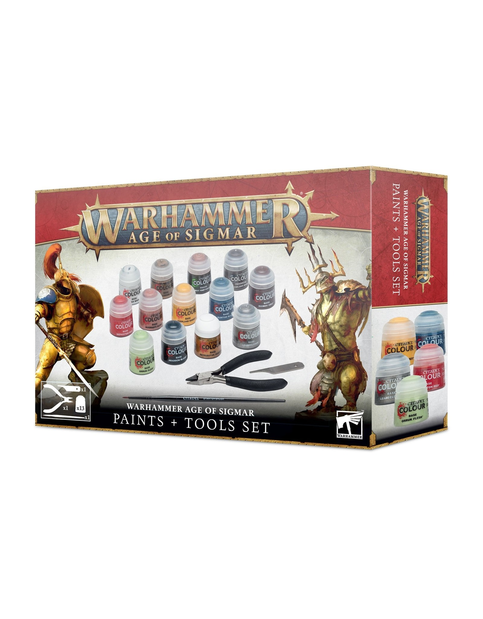 Age of Sigmar Age Of Sigmar Paints+Tools