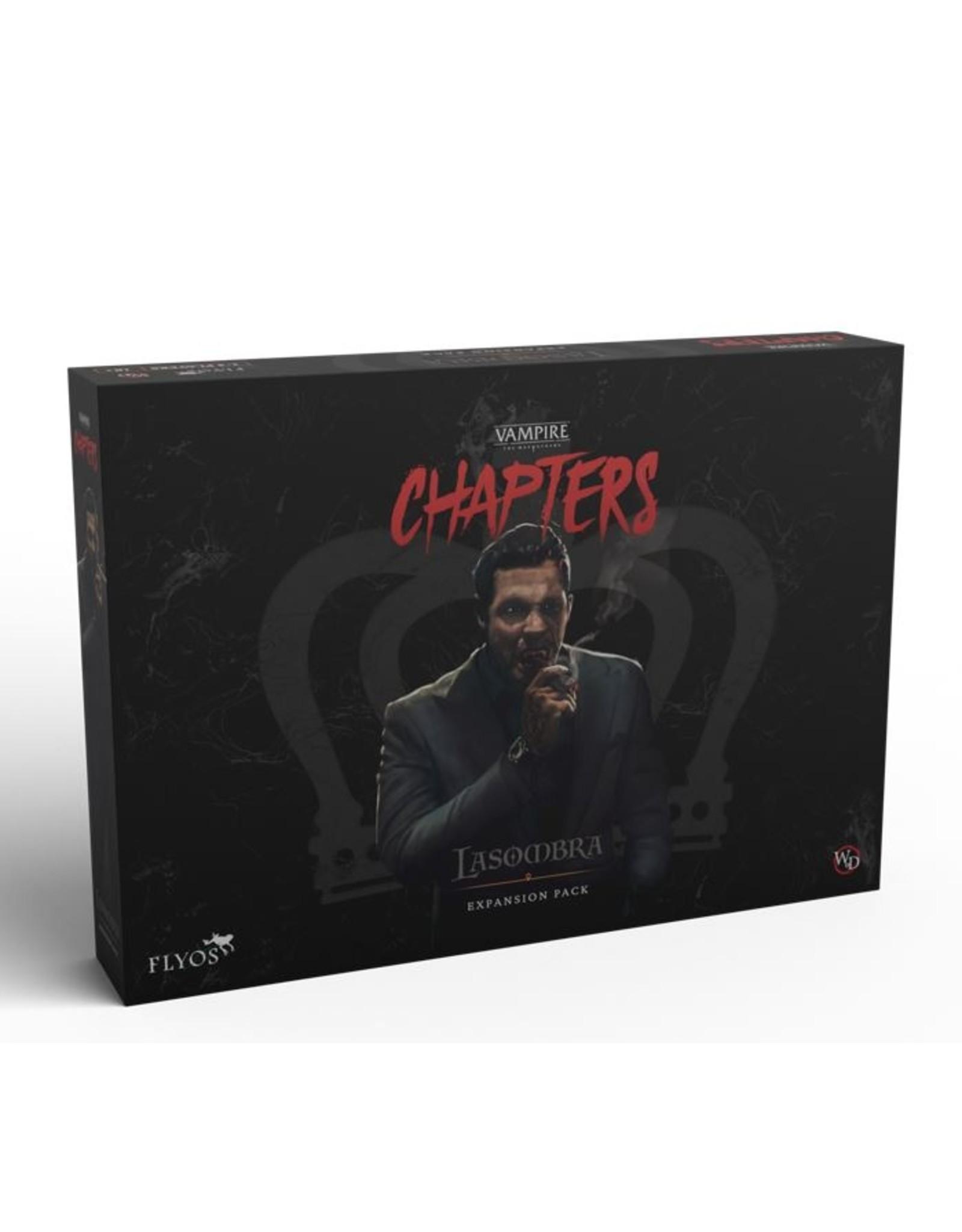 Flyos Vampire the Masquerade: Chapters: Lasombra The Survivor (Pre Order) (May 2022)