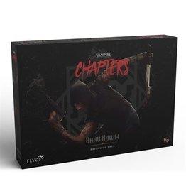 Flyos Vampire the Masquerade: Chapters: Banu Haqim The Mercenary (Pre Order) (May 2022)