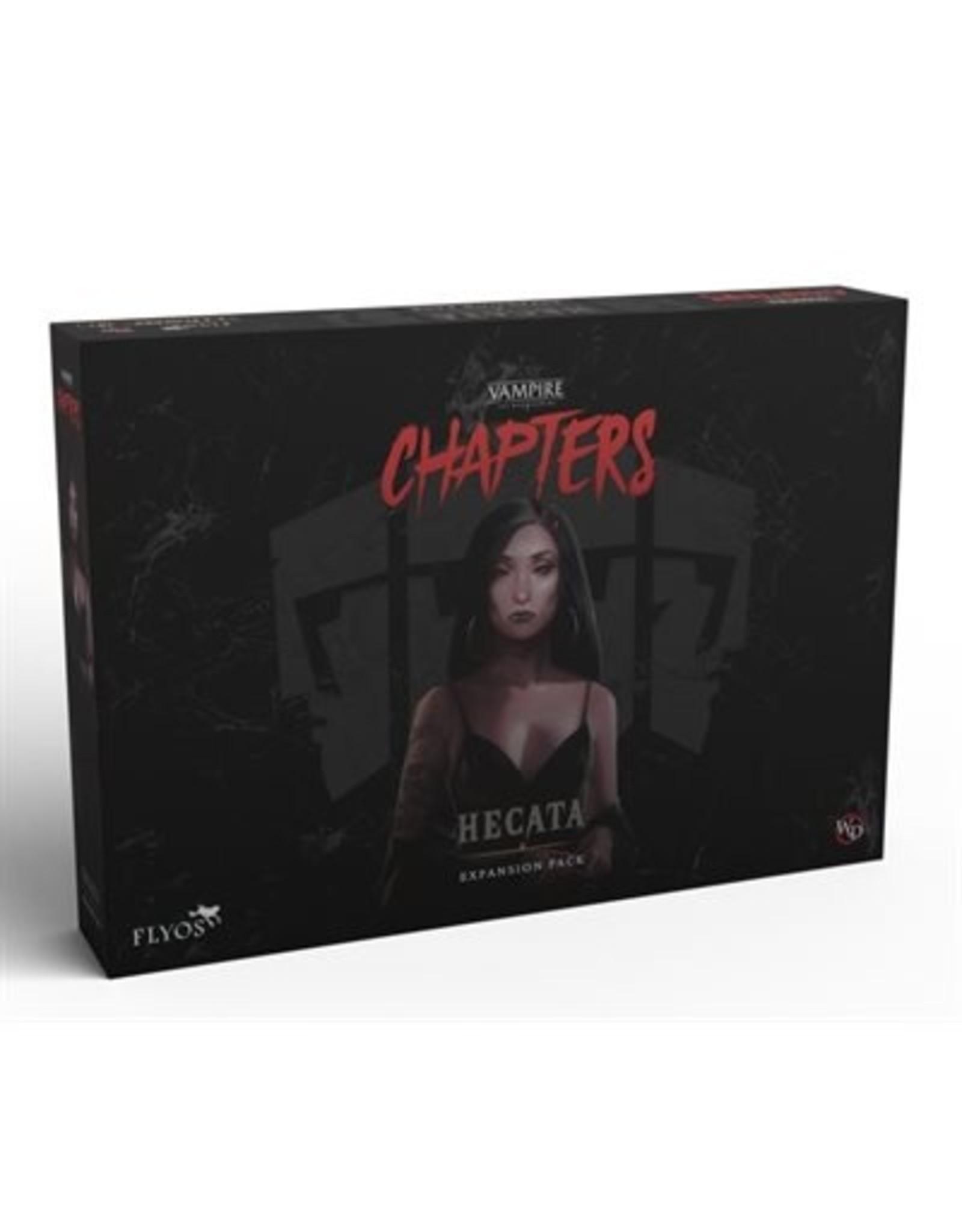 Flyos Vampire the Masquerade: Chapters: Hecata The Huntress (Pre Order) (May 2022)