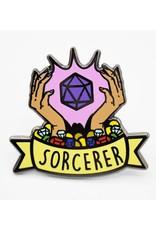 Foam Brain Banner Class Pins: Sorcerer