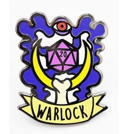 Foam Brain Banner Class Pins: Warlock