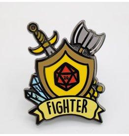 Foam Brain Banner Class Pins: Fighter