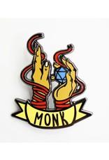Foam Brain Banner Class Pins: Monk