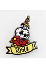 Foam Brain Banner Class Pins: Rogue