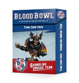Blood Bowl Blood Bowl: Shambling Undead Card Pack