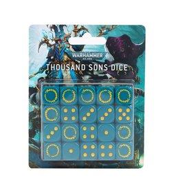 Warhammer 40K Thousand Sons Dice Set