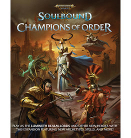 Cubicle 7 Warhammer Age of Sigmar - Soulbound RPG: Champions of Order