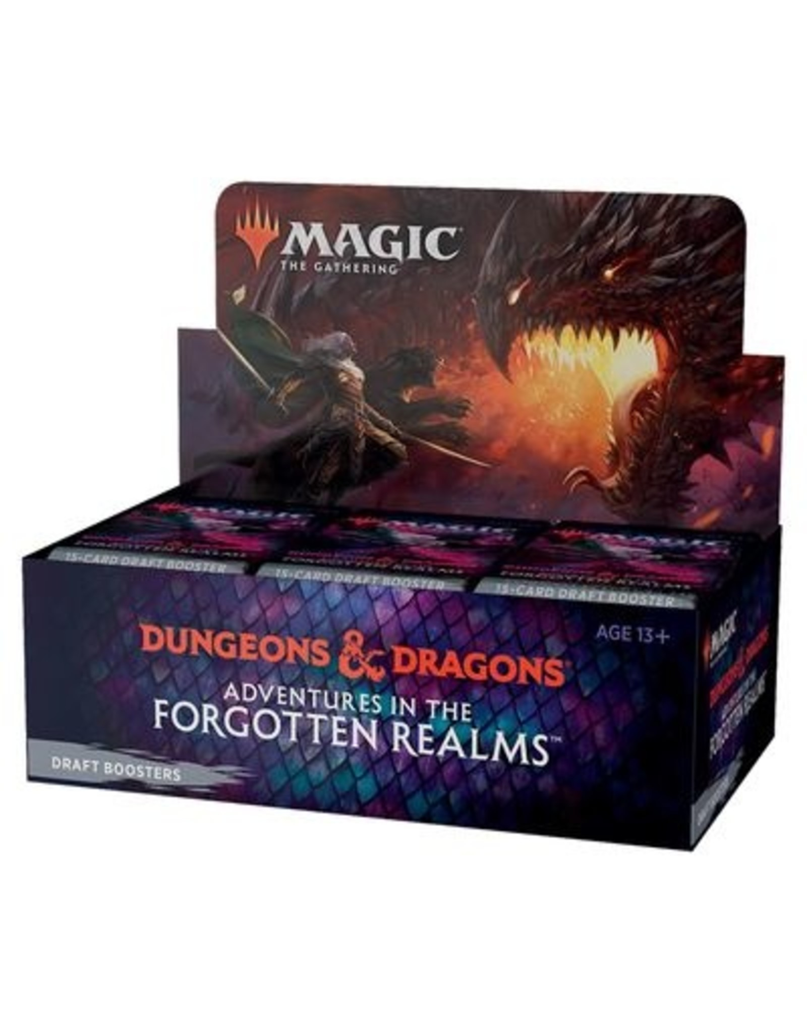 Magic Adventures in the Forgotten Realms Draft Booster Box (36)