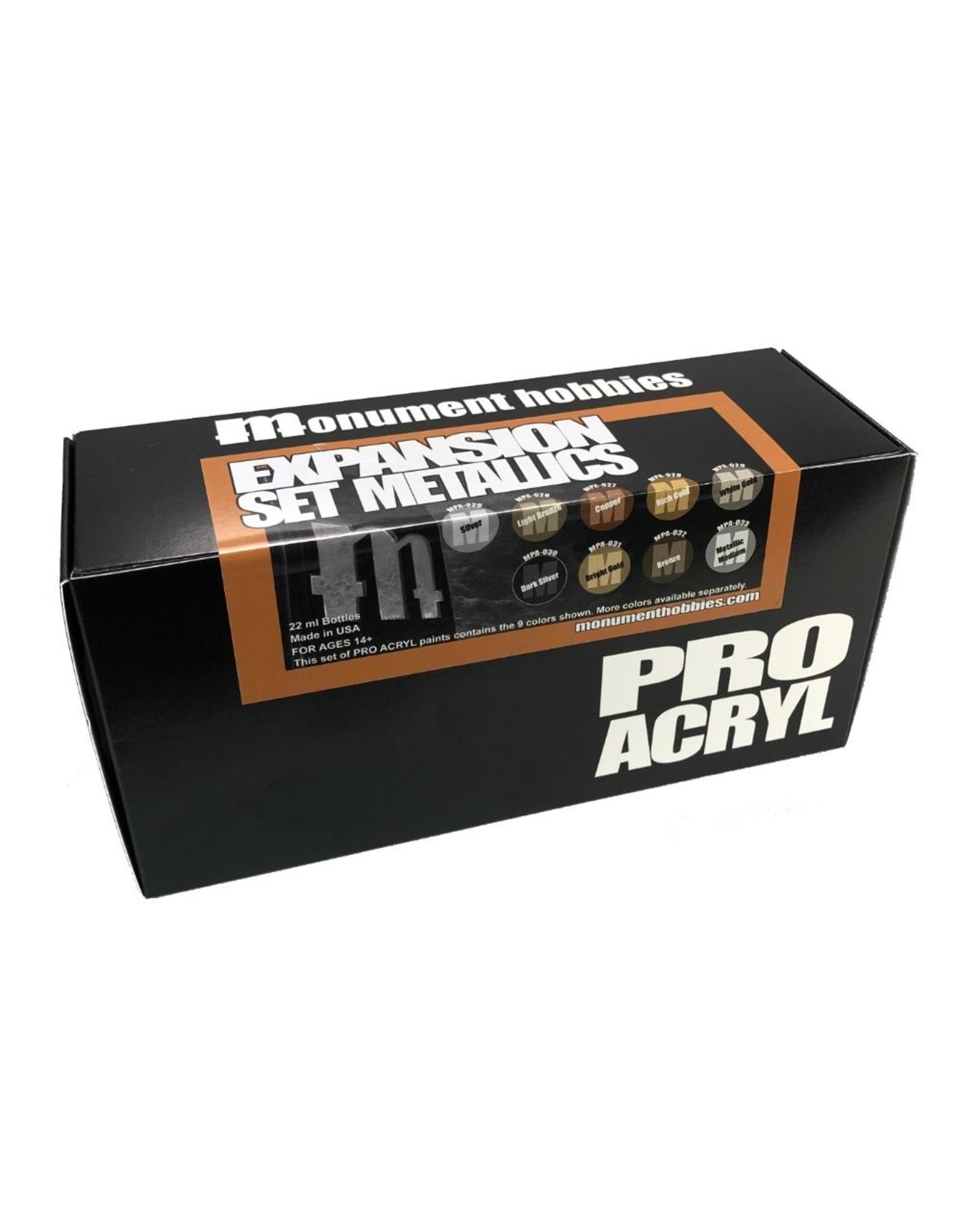 Pro Acryl Pro Acryl Metallic Set