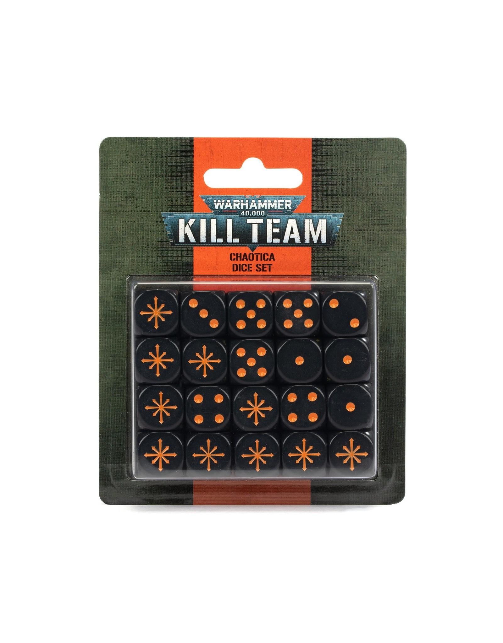 Kill Team Kill Team: Chaotica Dice Set