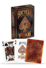 US Playing Card Co. Bicycle Fire