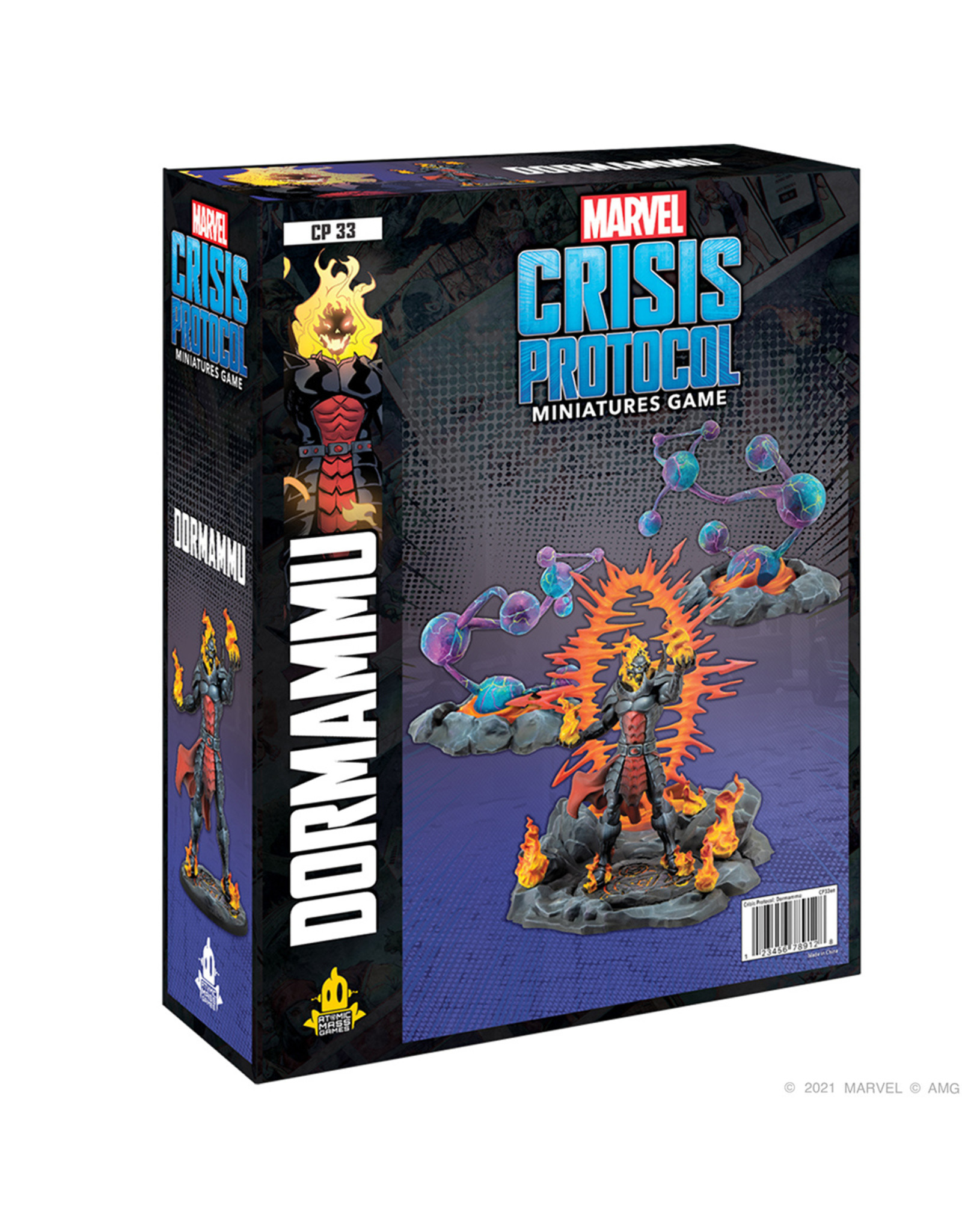 Atomic Mass Games Marvel Crisis Protocol: Dormammu Ultimate Encounter Character Pack (Pre Order)