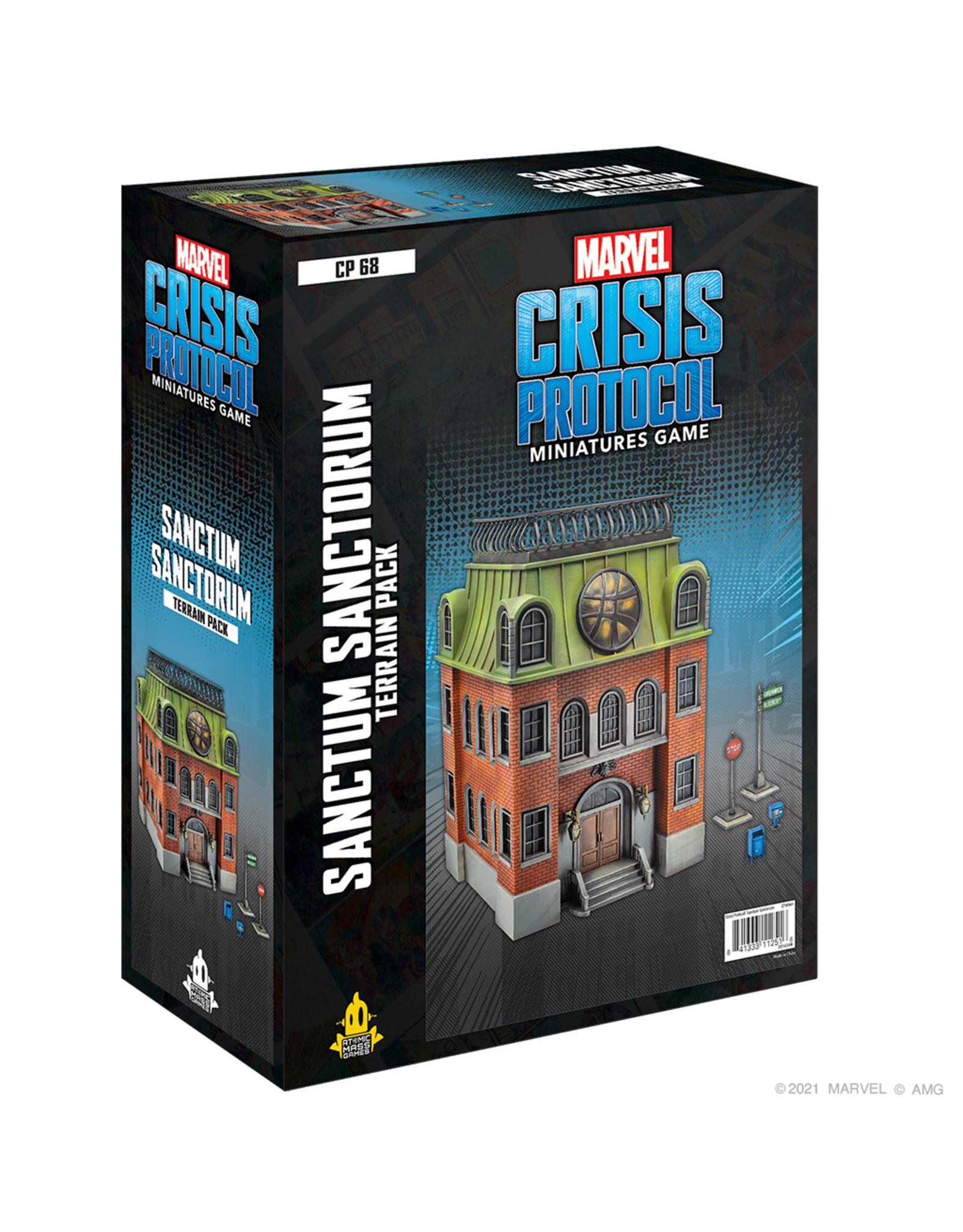 Atomic Mass Games Marvel Crisis Protocol: Sanctum Sanctorum Terrain (Pre Order)