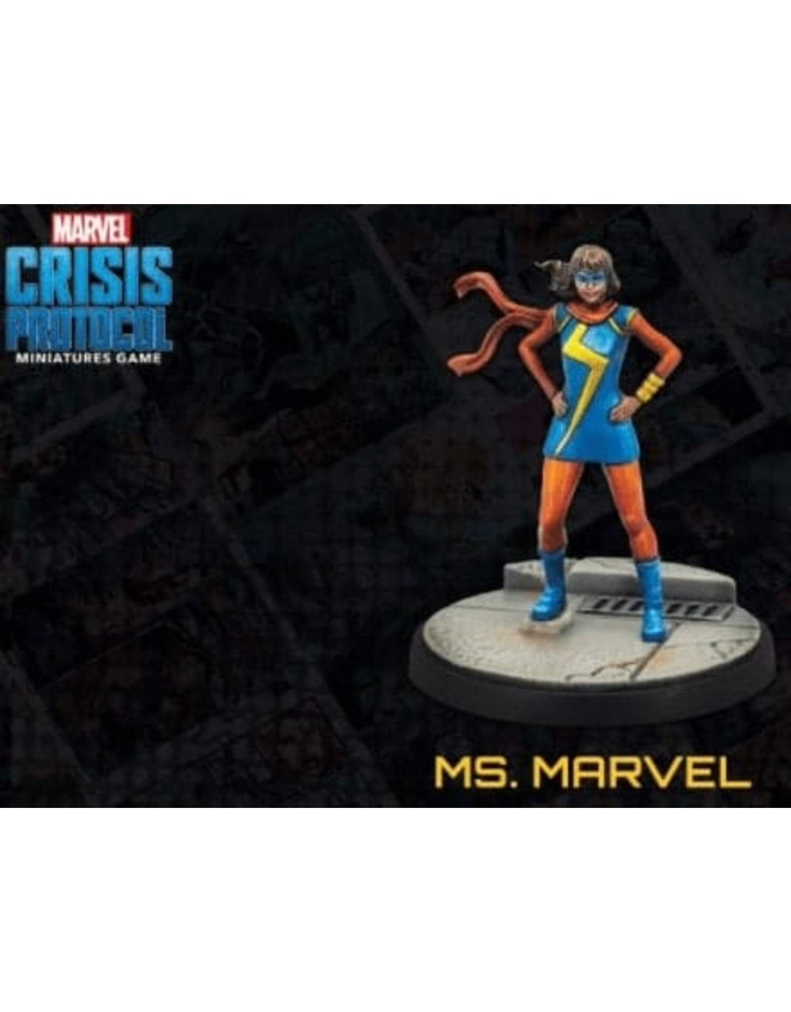 Atomic Mass Games Marvel Crisis Protocol: Ms. Marvel (Pre Order)
