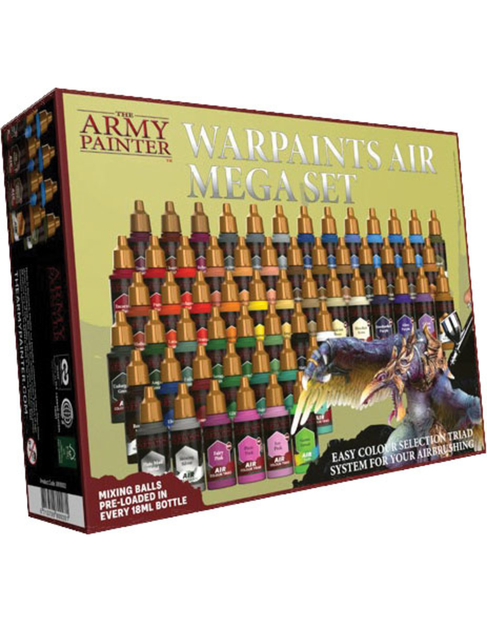 Army Painter Warpaints Air: Mega Set (Sep 2021)