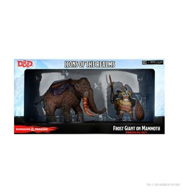 Wiz Kids D&D: Icons Set 19 Snowbound Frost Giant and Mammoth