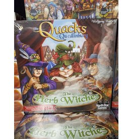 The Quacks of Quedlinburg: The Herb Witches (Ding & Dent)