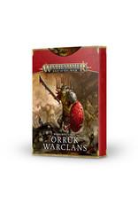 Age of Sigmar Warscroll Cards: Orruk Warclans