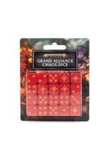 Age of Sigmar Aos: Grand Alliance Chaos Dice Set