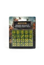 Age of Sigmar Age of Sigmar: Grand Alliance Destruction Dice Set