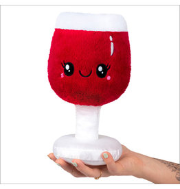 Squishables Mini Boozy Buds Red Wine Glass