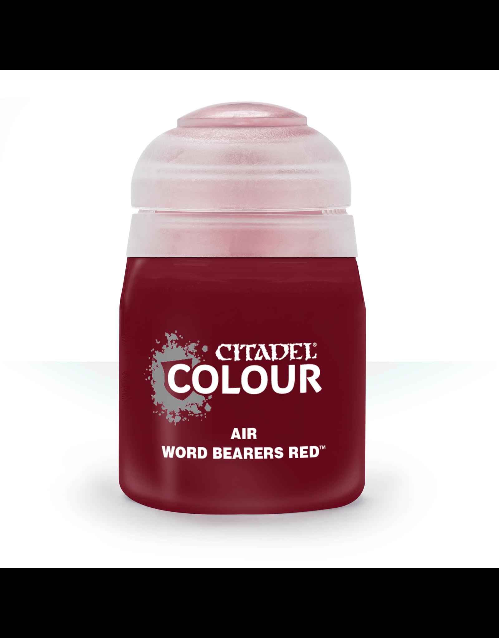 Citadel Citadel Paints: Air - Word Bearers Red
