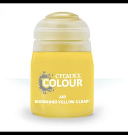 Citadel Citadel Paints: Air - Sigismund Yellow Clear