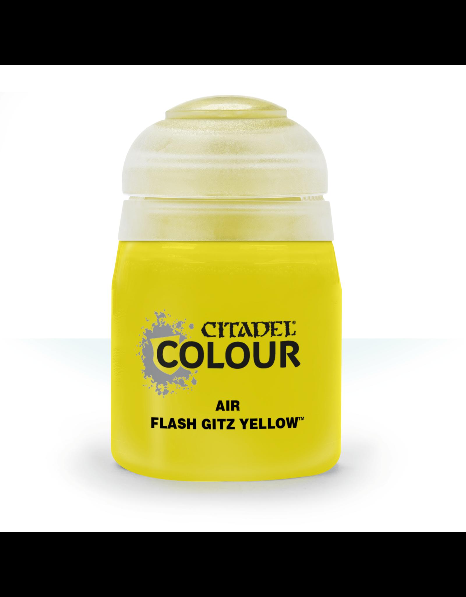 Citadel Citadel Paints: Air - Flash Gitz Yellow