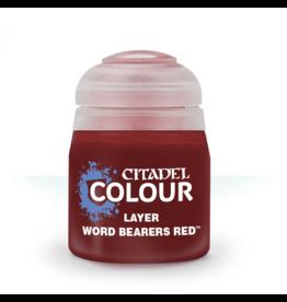 Citadel Citadel Paints: Layer - Word Bearers Red