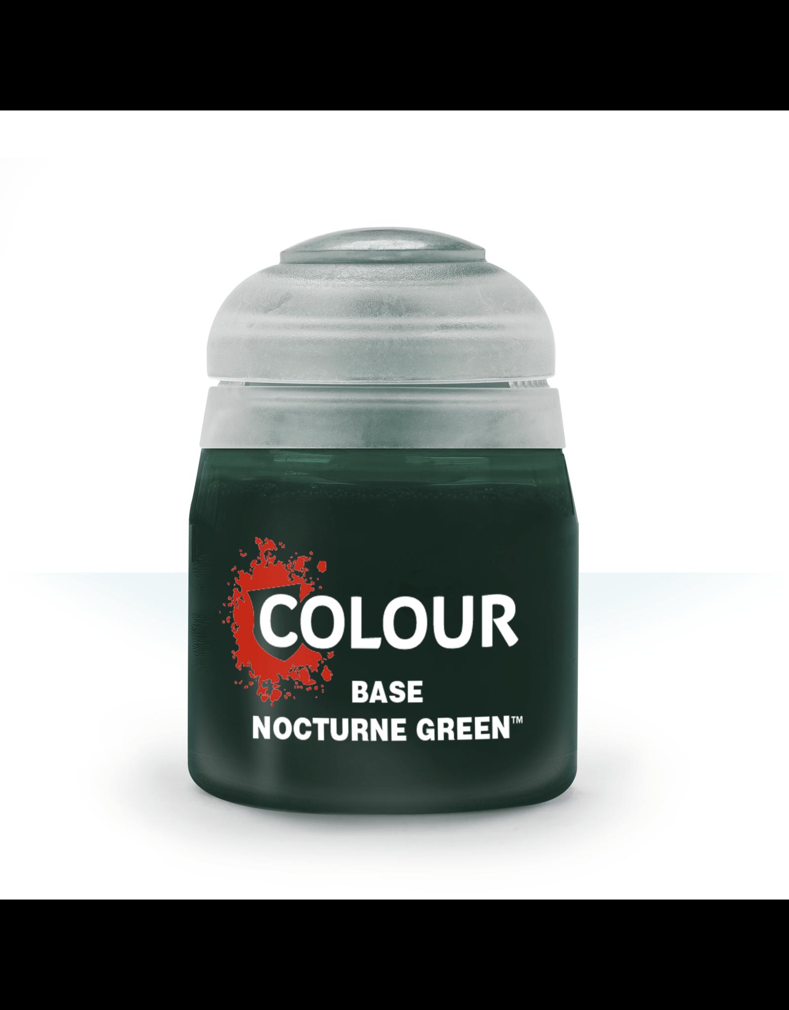 Citadel Citadel Paints: Base - Nocturne Green