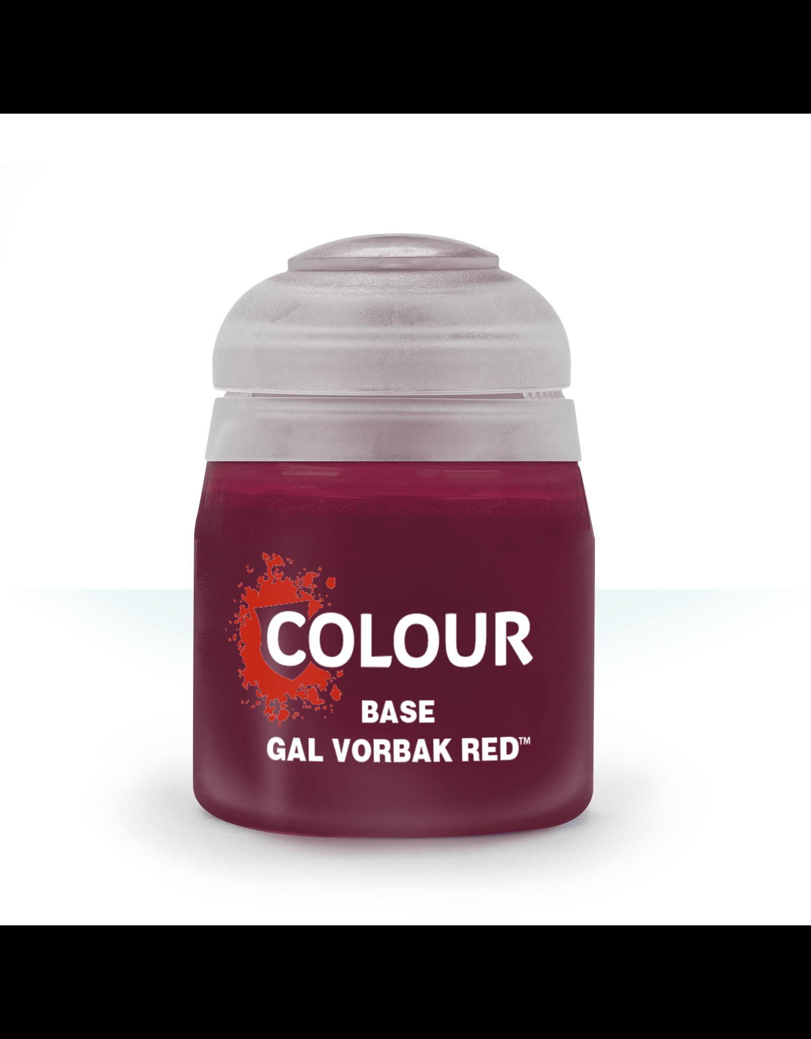 Citadel Citadel Paints: Base - Gal Vorbak Red