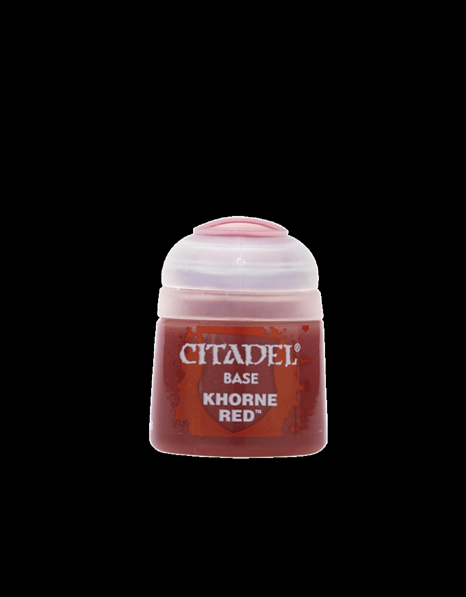 Citadel Citadel Paints: Base - Khorne Red